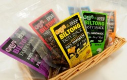 Isle of Wight Biltong packaging by Kernpack